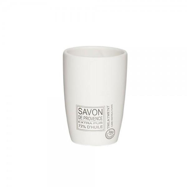 Ποτήρι Οδοντόβουρτσας SealSkin Savon De Provence White