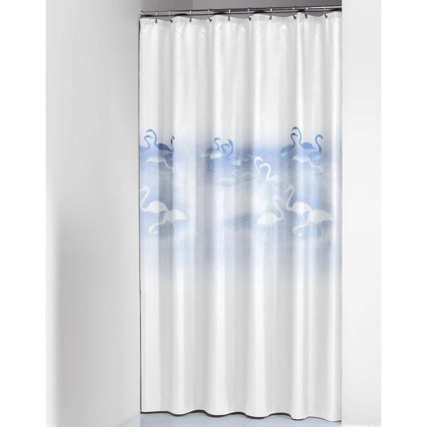 Κουρτίνα Μπάνιου Πλαστική (180x200) SealSkin Flamingo