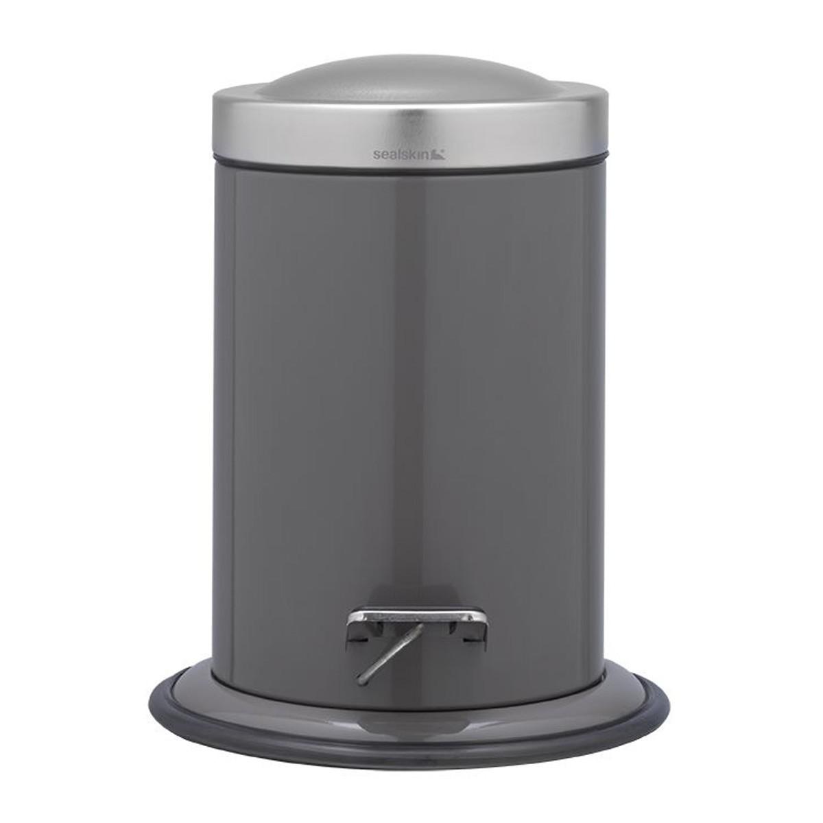Κάδος Απορριμάτων SealSkin 3Lit Acero Grey