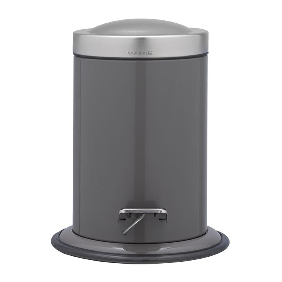 Κάδος Απορριμμάτων SealSkin 3Lit Acero Grey