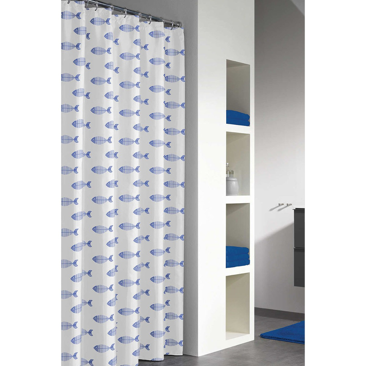 Κουρτίνα Μπάνιου Πλαστική (180×200) SealSkin Nemo