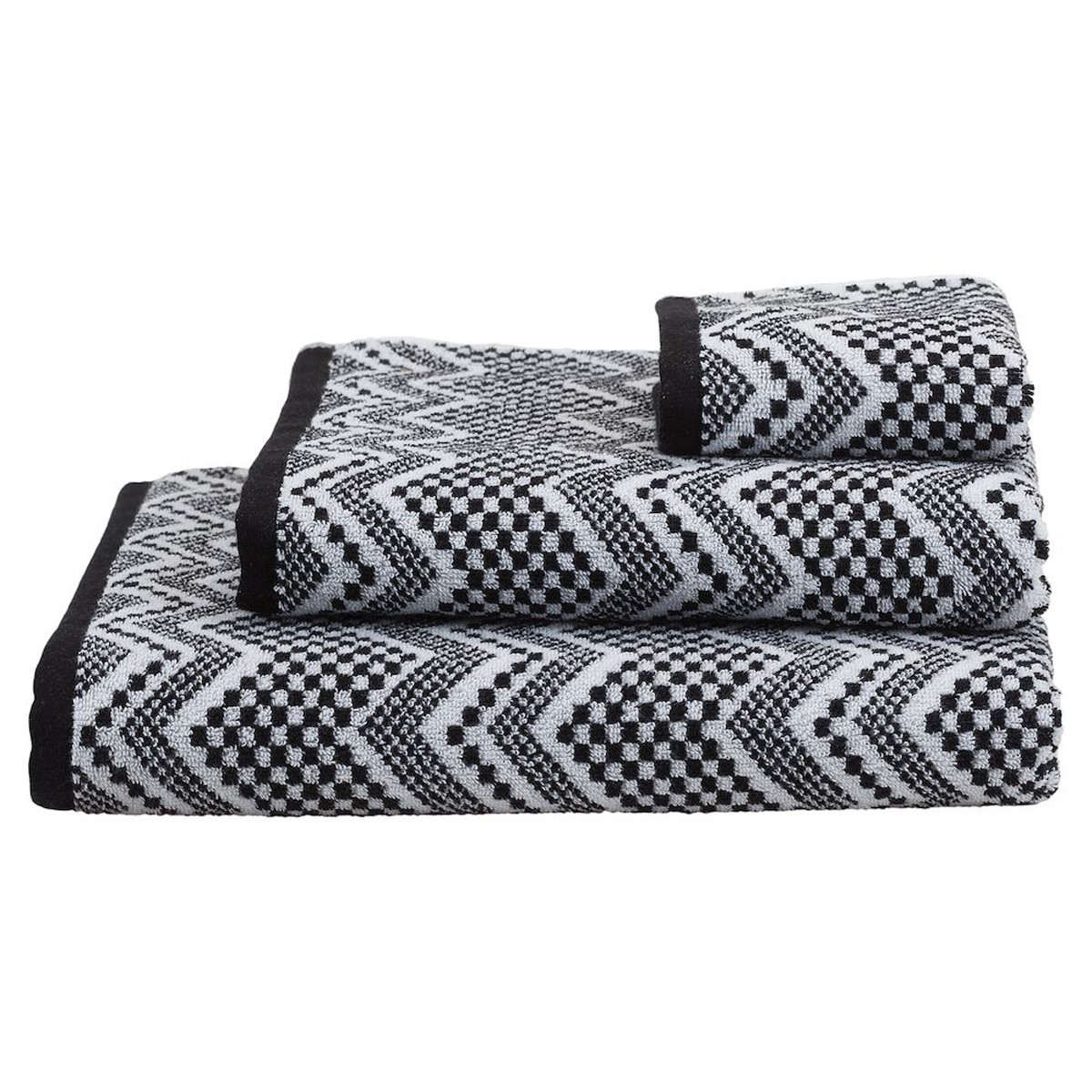 Πετσέτα Σώματος (70x140) SealSkin Portofino Black