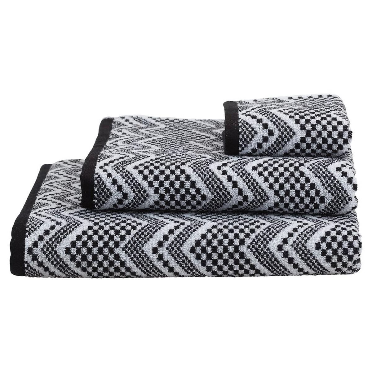 Πετσέτα Προσώπου (60×110) SealSkin Portofino Black