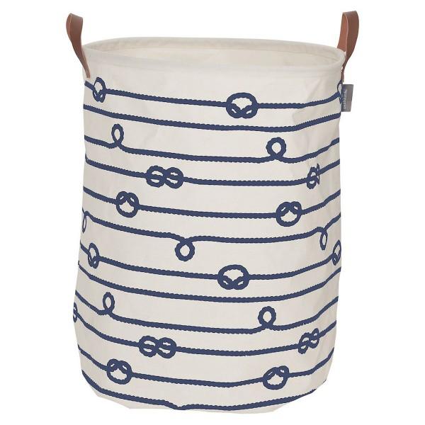 Καλάθι Απλύτων (35x35x50) SealSkin Laundry Bag Rope Blue