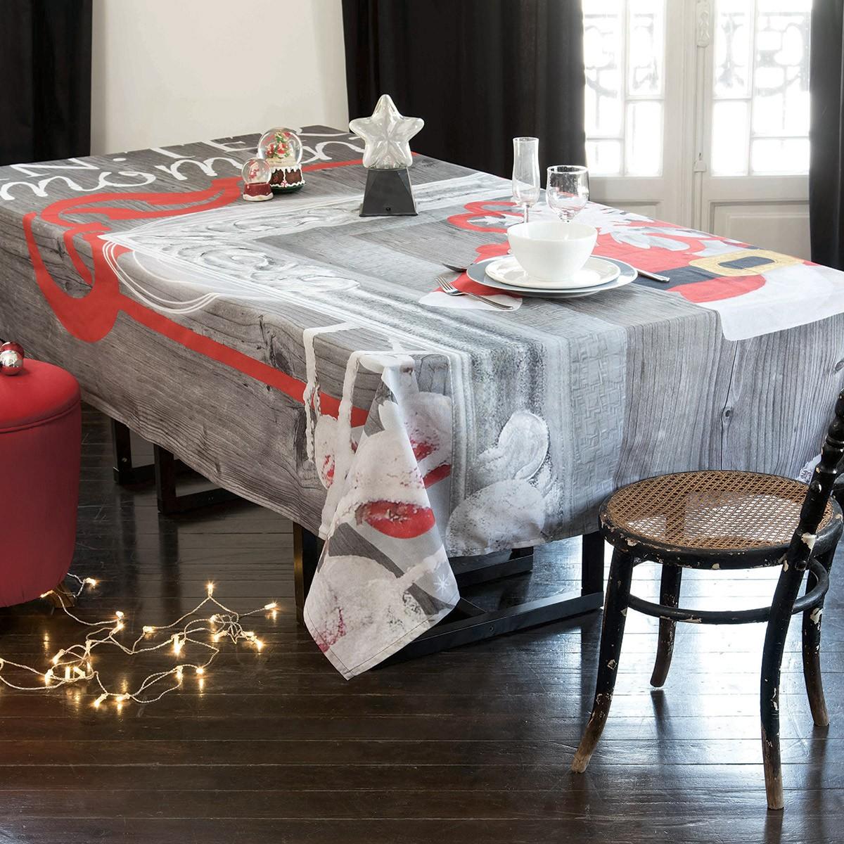 Χριστουγεννιάτικο Τραπεζομάντηλο (140x180) Makis Tselios Xmass