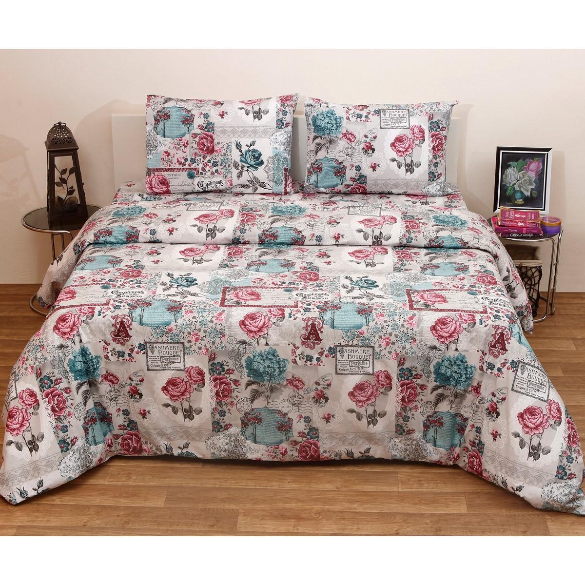 Πάπλωμα Ημίδιπλο (Σετ) Viopros Fresh Ροζάνα home   κρεβατοκάμαρα   παπλώματα   παπλώματα ημίδιπλα   διπλά