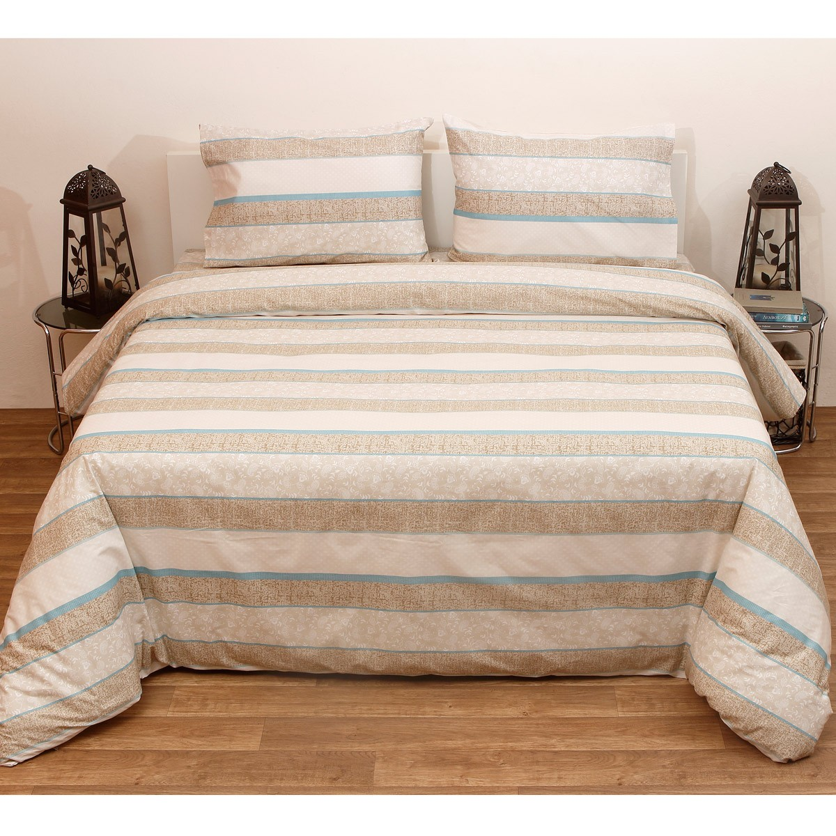 Πάπλωμα Ημίδιπλο (Σετ) Viopros Fresh Ιρέν Λινό home   κρεβατοκάμαρα   παπλώματα   παπλώματα ημίδιπλα   διπλά