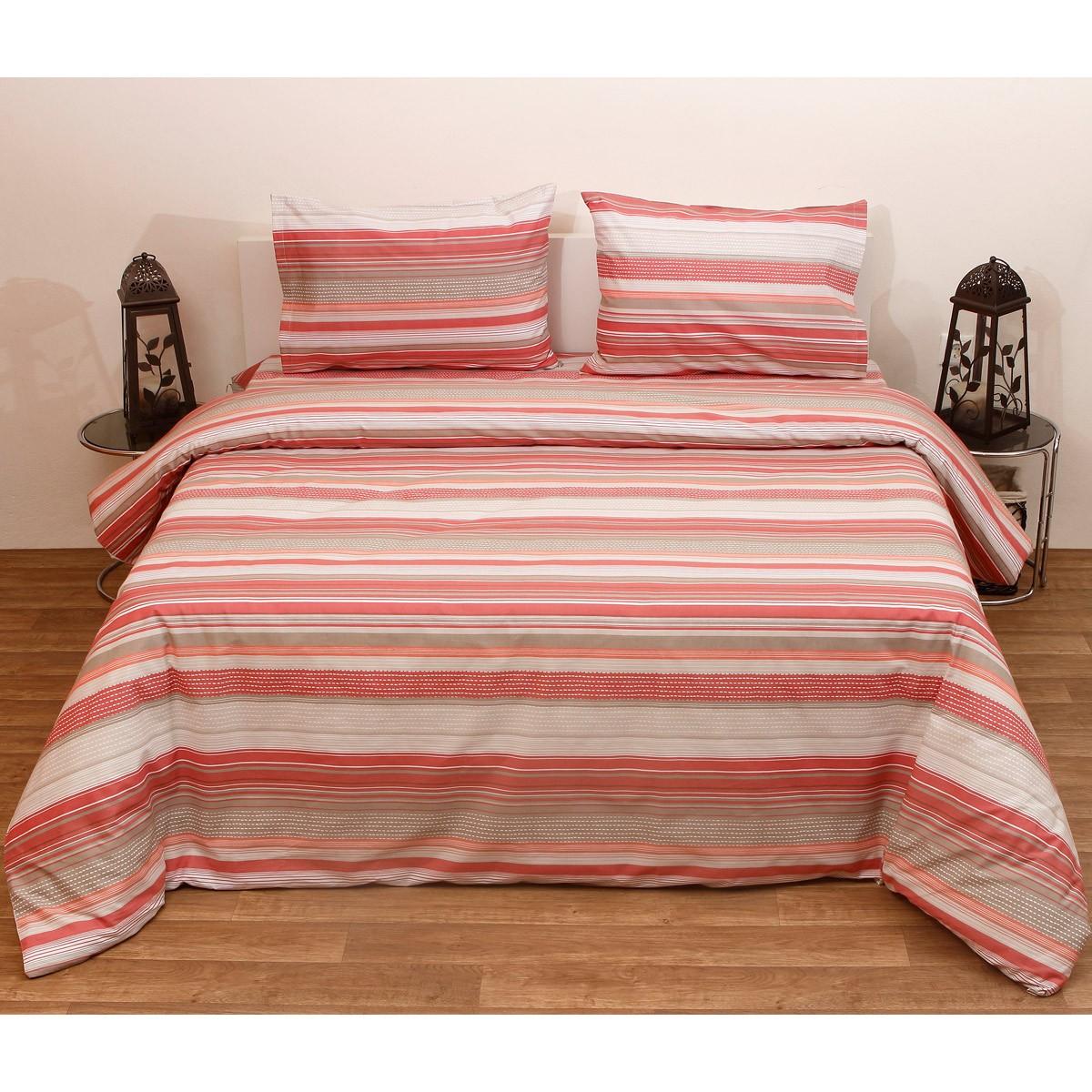 Πάπλωμα Ημίδιπλο (Σετ) Viopros Fresh Γκρέυ Κοραλί home   κρεβατοκάμαρα   παπλώματα   παπλώματα ημίδιπλα   διπλά