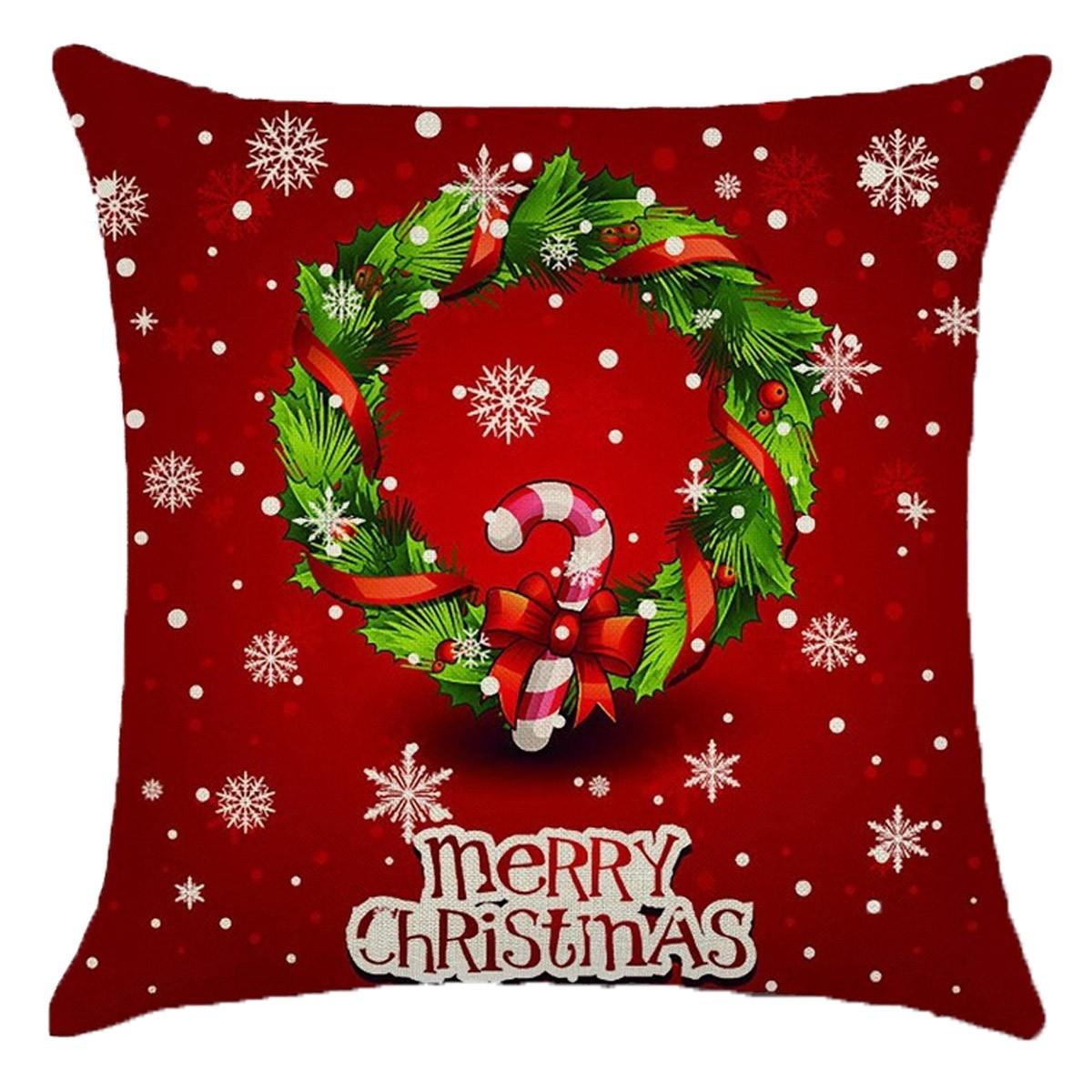 Χριστουγεννιάτικο Μαξιλάρι Viopros Christmas Time 241 home   χριστουγεννιάτικα   χριστουγεννιάτικα μαξιλάρια