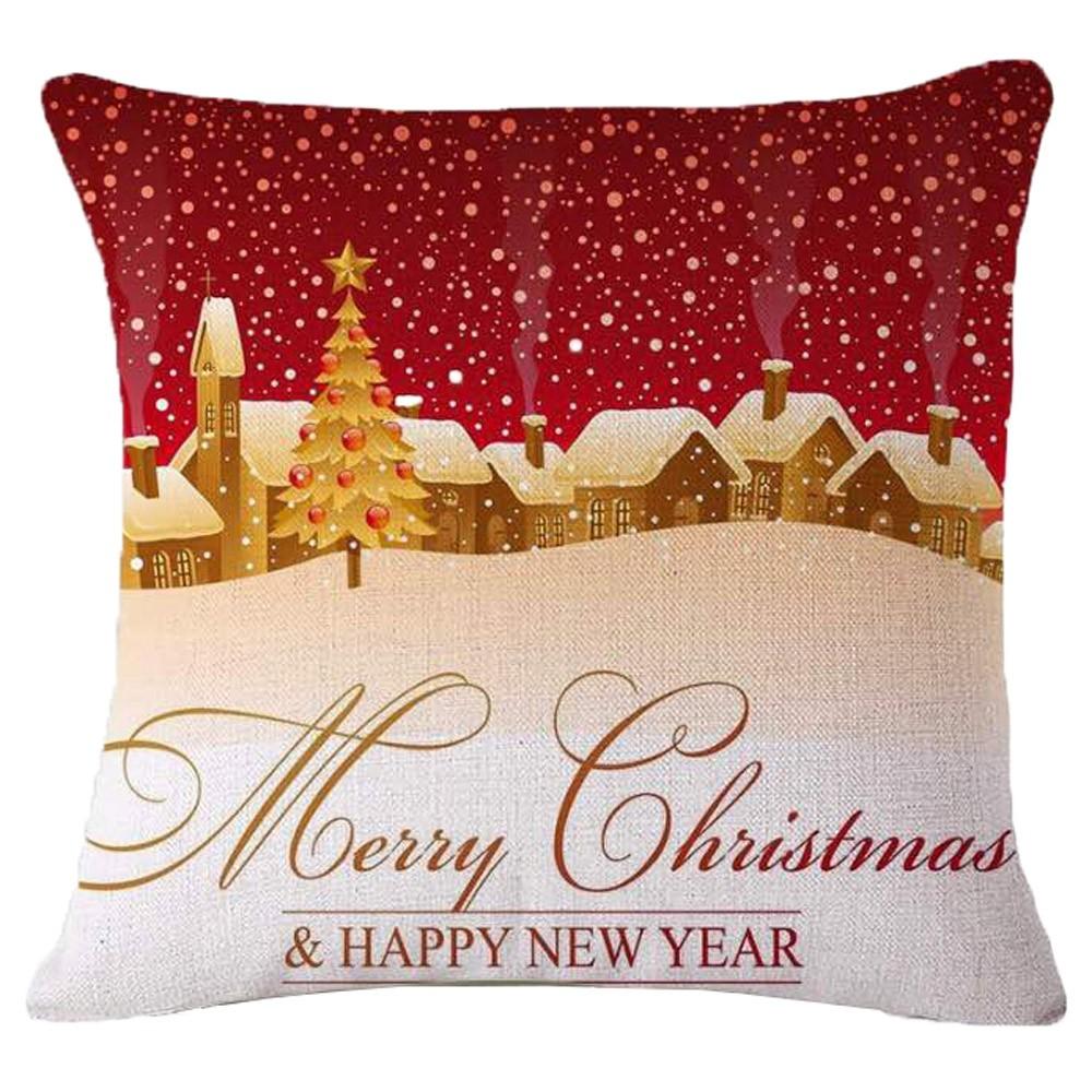 Χριστουγεννιάτικο Μαξιλάρι Viopros Christmas Time 243