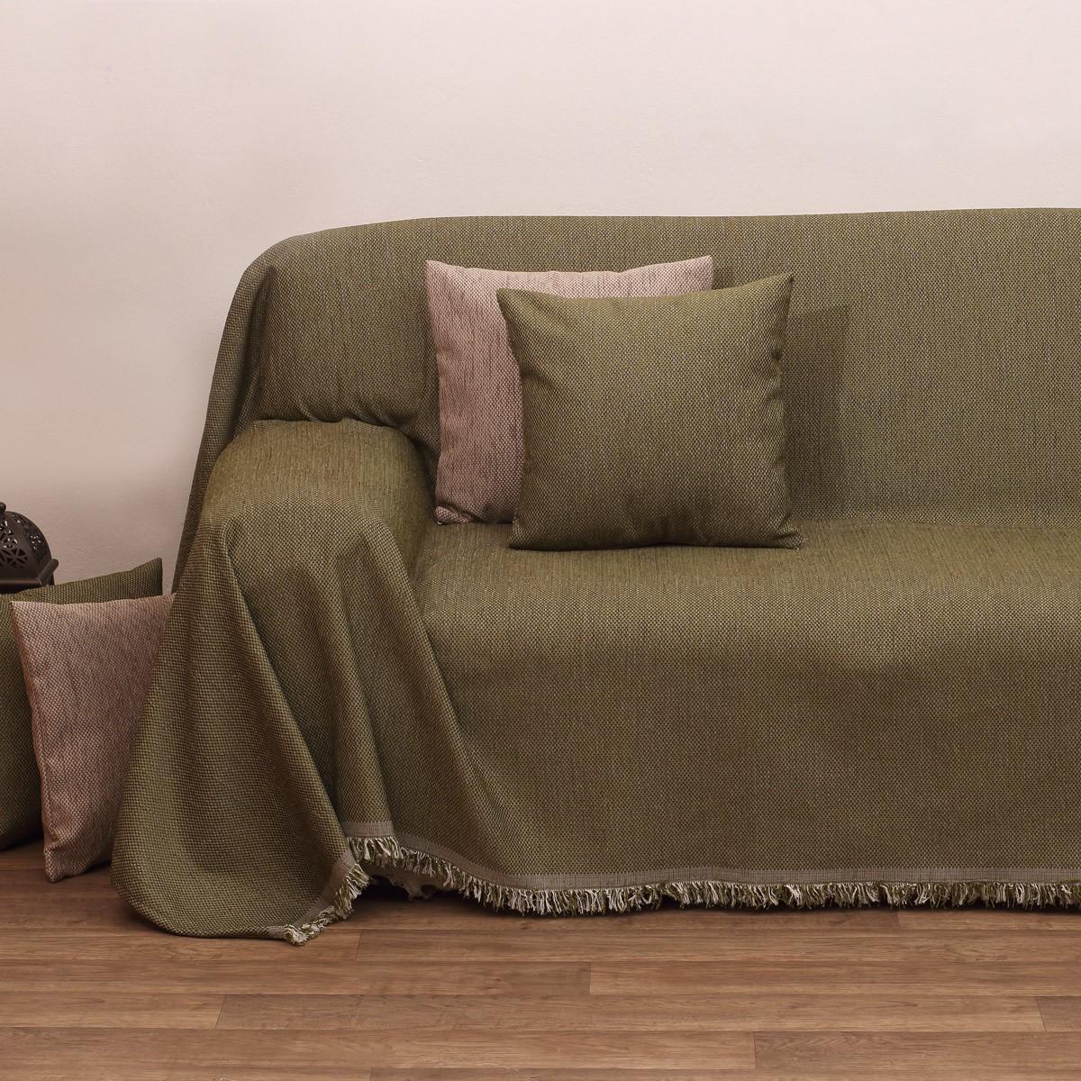 Ριχτάρι Τριθέσιου (180×280) Viopros 2100 Λαδί