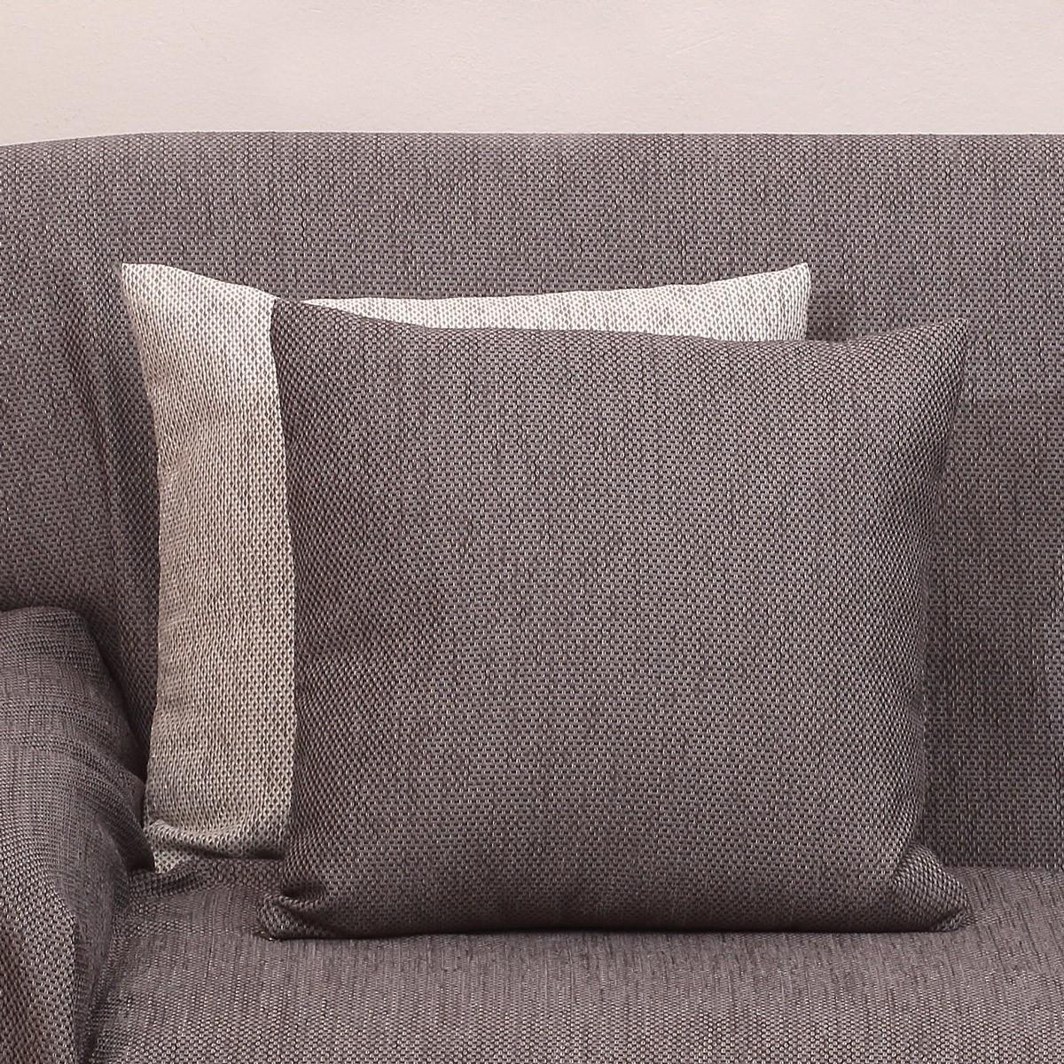 Διακοσμητικό Μαξιλάρι (42×42) Viopros 2100 Γκρι