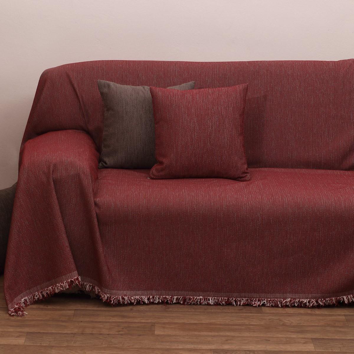 Ριχτάρι Τριθέσιου (180×280) Viopros 2100 Κόκκινο