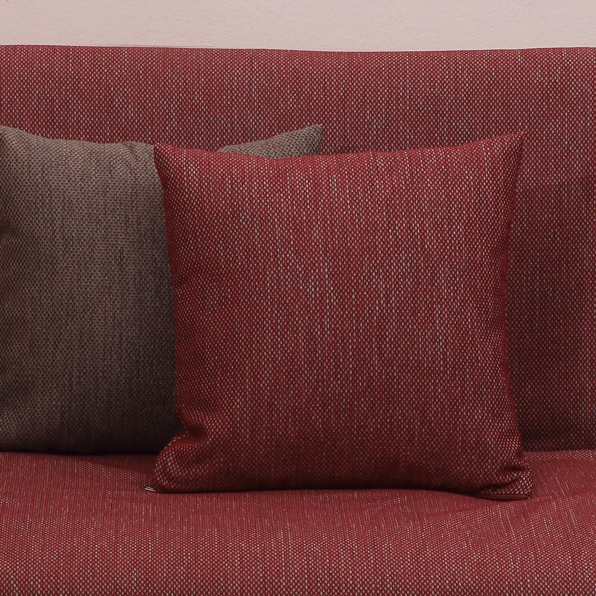 Διακοσμητική Μαξιλαροθήκη Viopros 2100 Κόκκινο