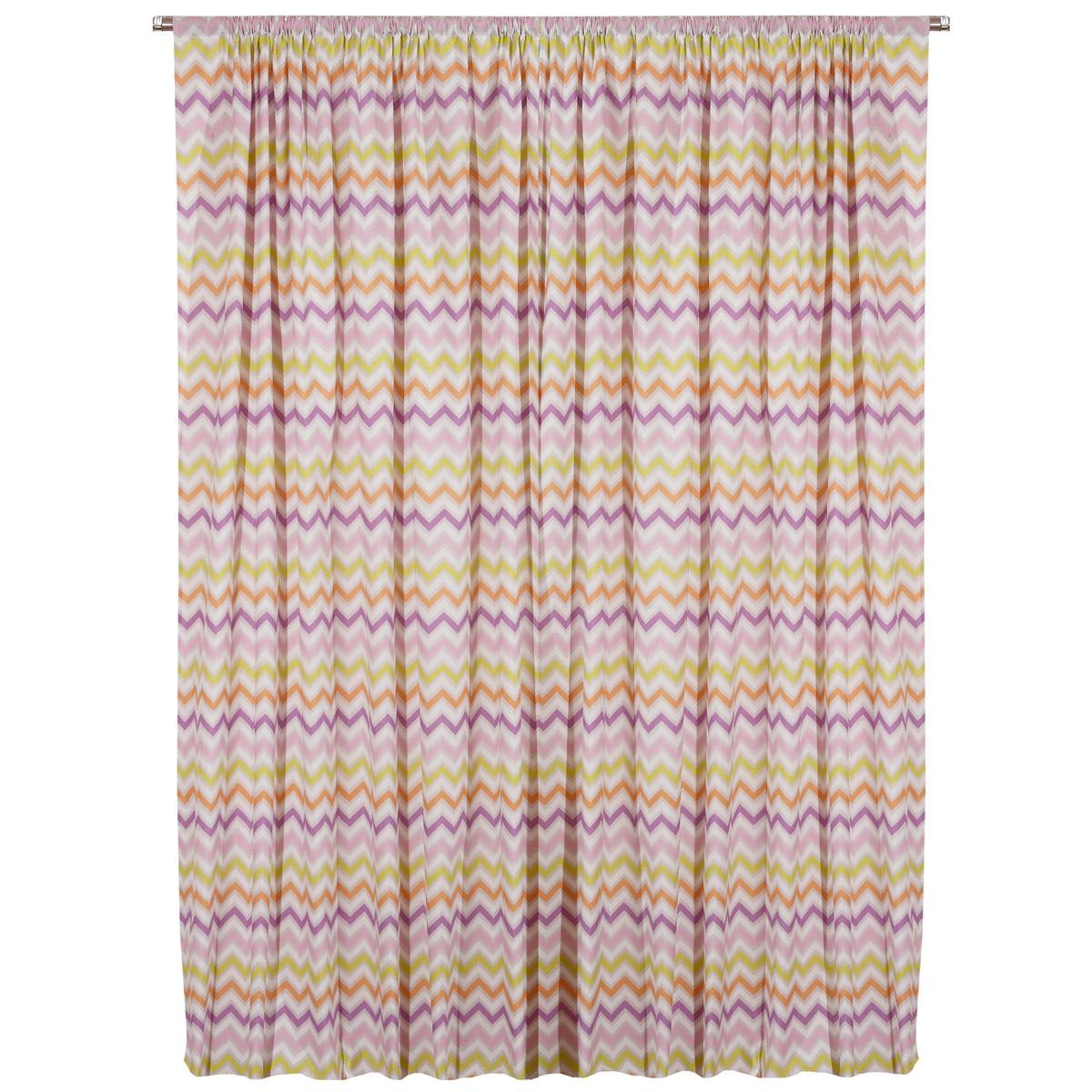 Παιδική Κουρτίνα (160×270) Viopros Curtains Ρίο Λιλά