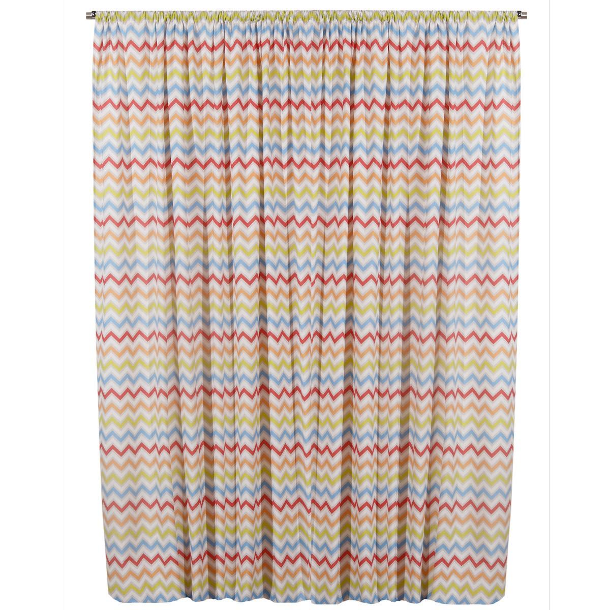 Παιδική Κουρτίνα (280×270) Viopros Curtains Ρίο Κόκκινο