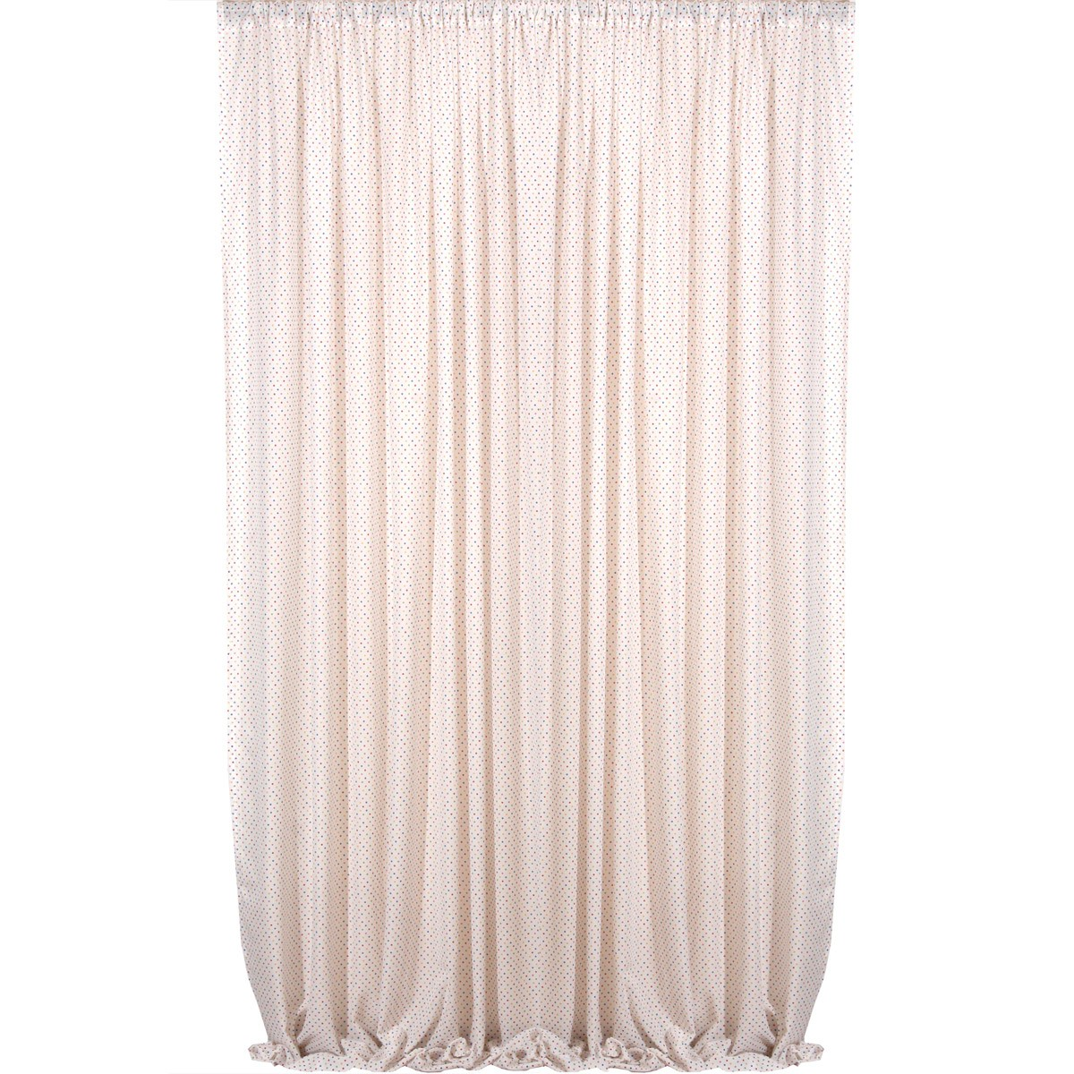 Παιδική Κουρτίνα (280×270) Viopros Curtains Γάζα Πουά Πολύχρωμο