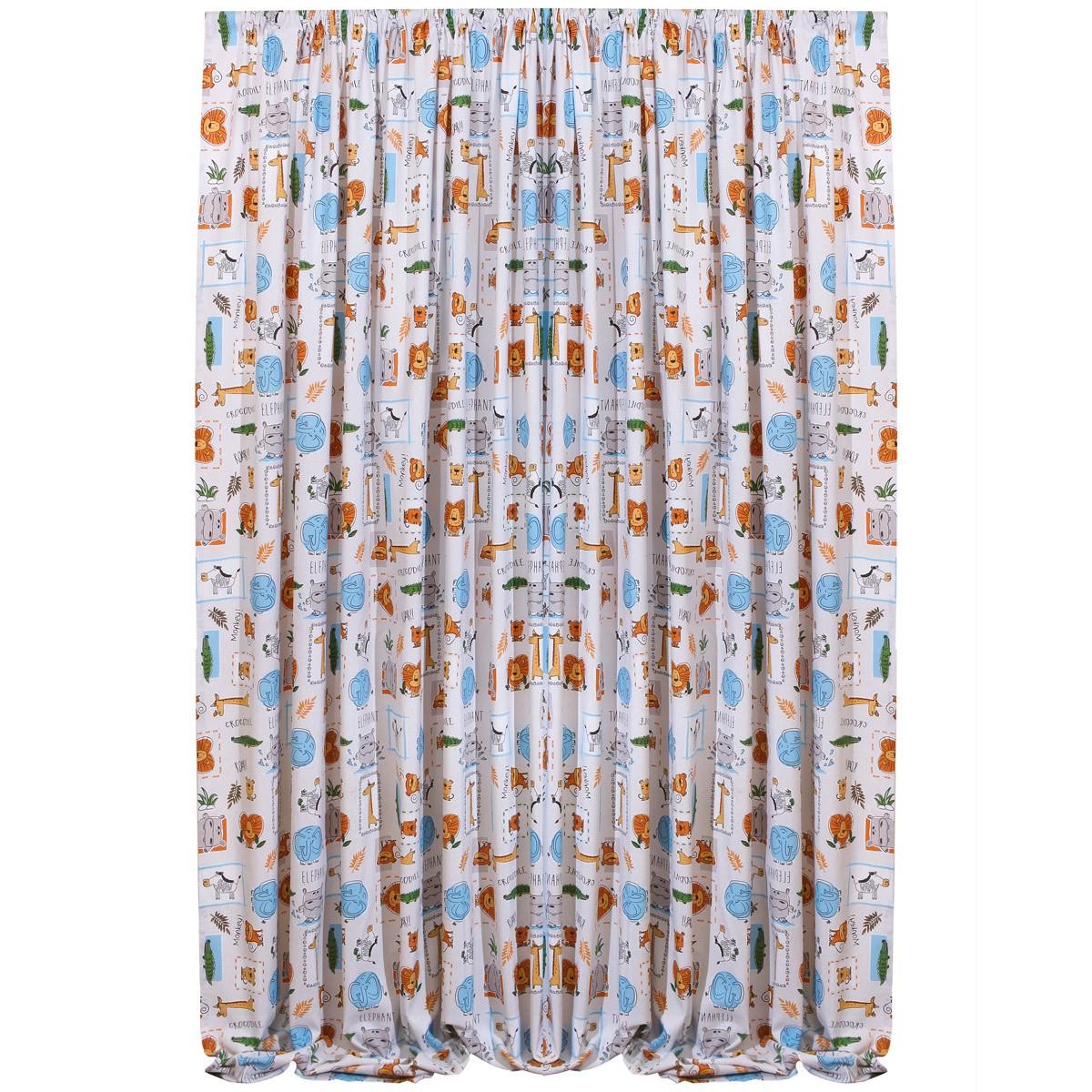 Παιδική Κουρτίνα (160×270) Viopros Curtains Ζου