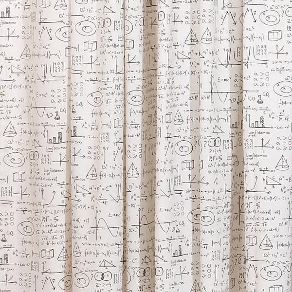 Κουρτίνα (280x270) Με Τρέσα Viopros Άλγεβρα Λευκό