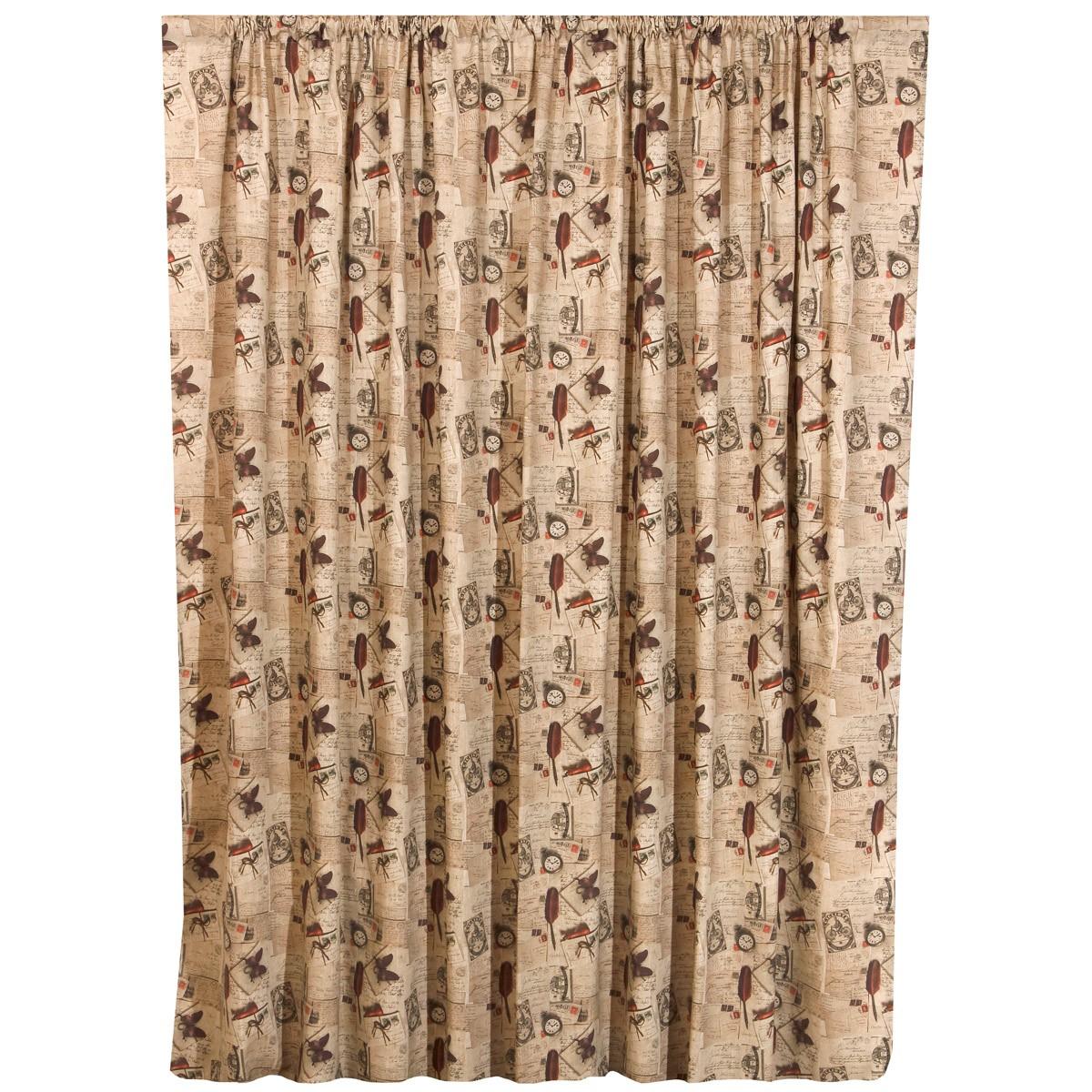 Κουρτίνα (280x270) Viopros Curtains Ρετρό