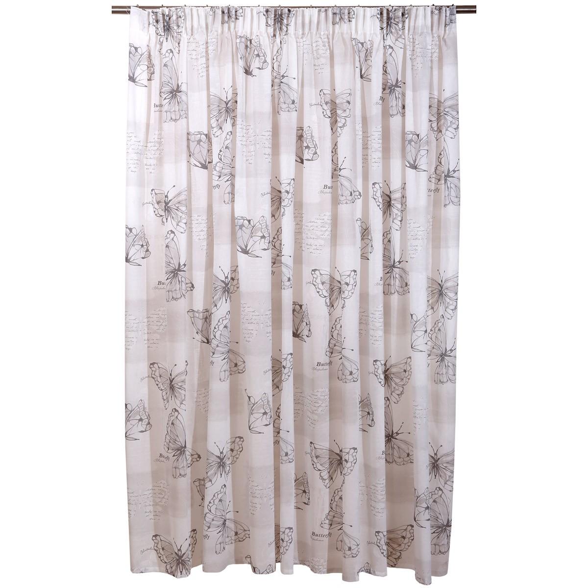 Κουρτίνα (280x270) Viopros Curtains Πεταλούδες