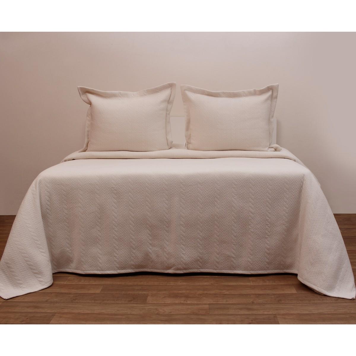 Κουβερτόριο Μονό Anna Riska Karen Ivory home   κρεβατοκάμαρα   κουβέρτες   κουβέρτες καλοκαιρινές μονές