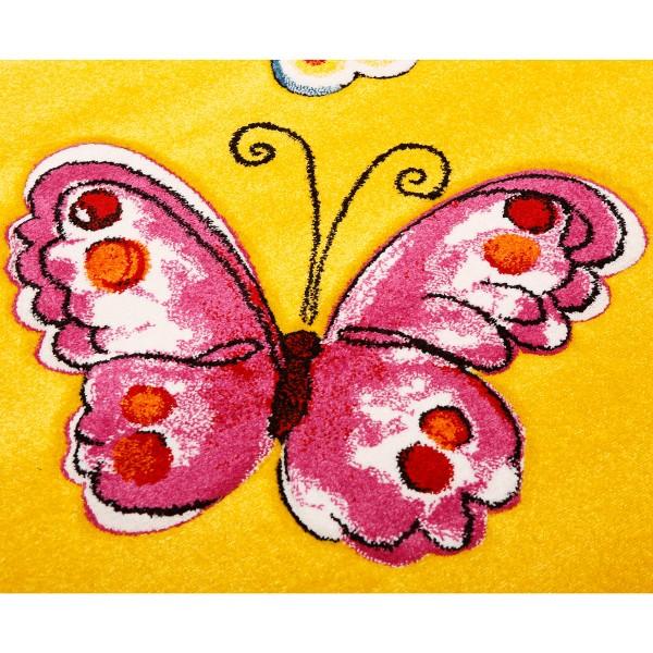 Παιδικό Χαλί (133x190) Viopros Πεταλούδες