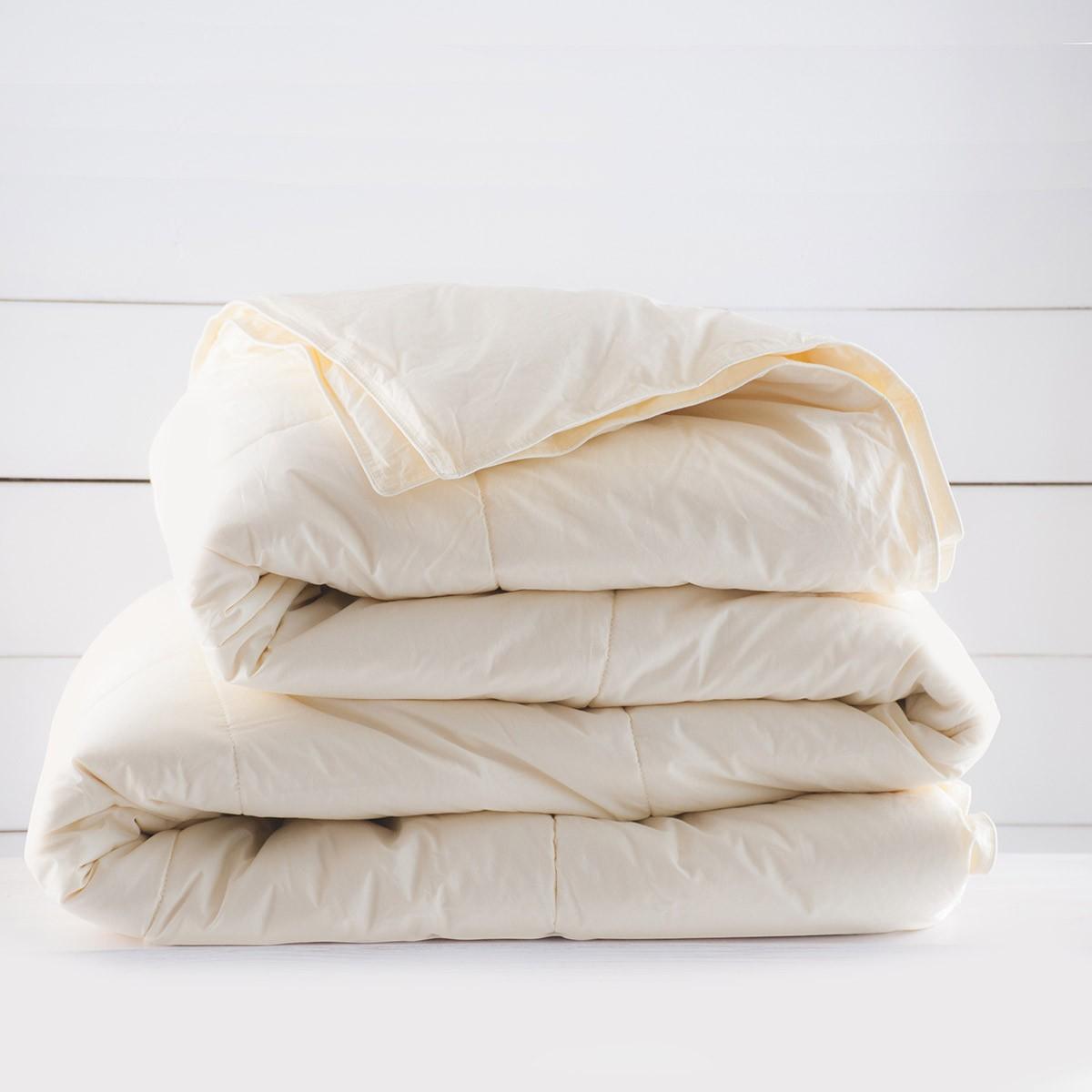 Πάπλωμα Μάλλινο Μονό Rythmos Wool