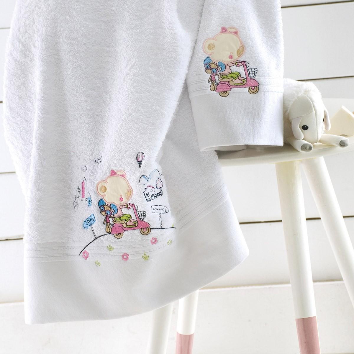 Παιδικές Πετσέτες (Σετ 2τμχ) Rythmos Kids Trip home   παιδικά   πετσέτες παιδικές