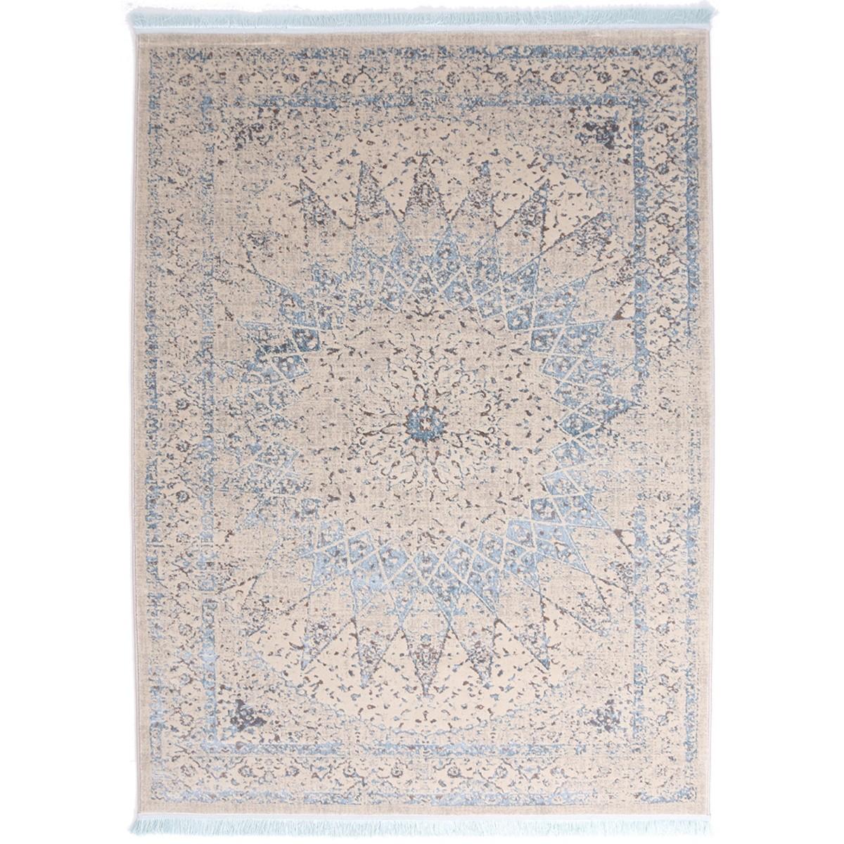 Χαλί (160×230) Royal Carpets Drama 58050 Beige Blue