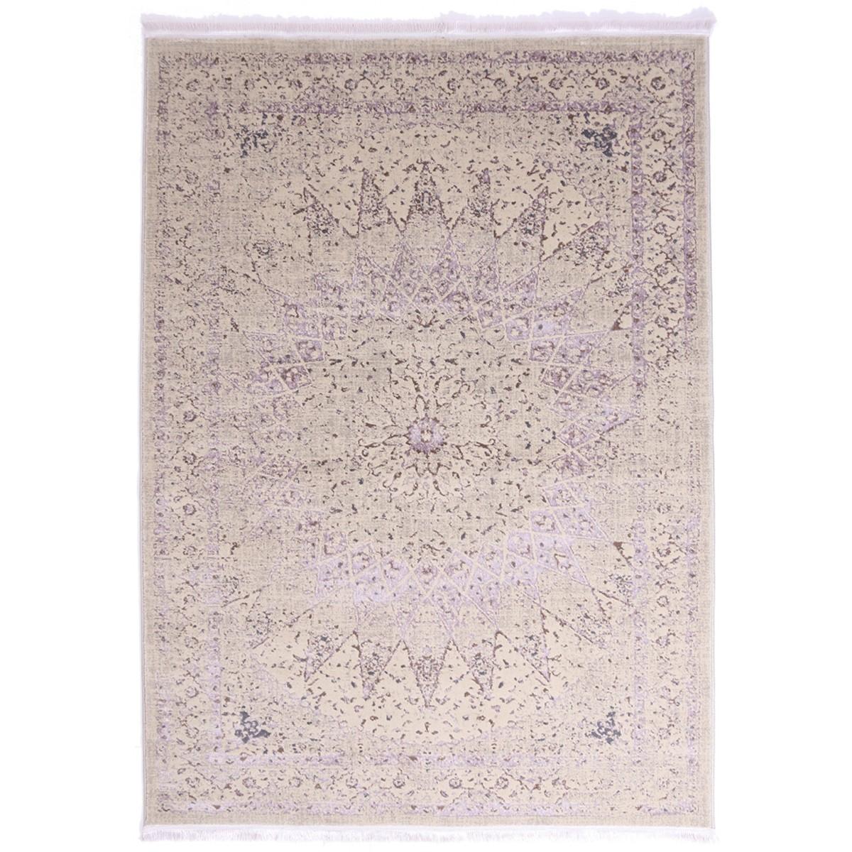 Χαλί (200×250) Royal Carpets Drama 58050 Beige Purple