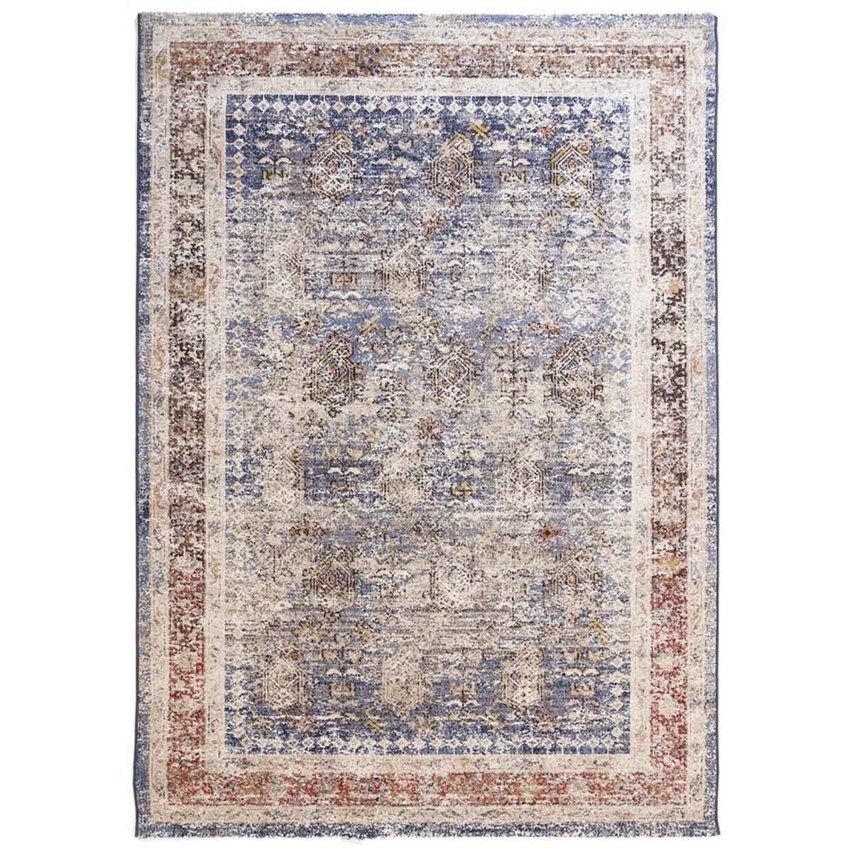 Χαλί (200×290) Royal Carpets Oushak 555 Light Blue