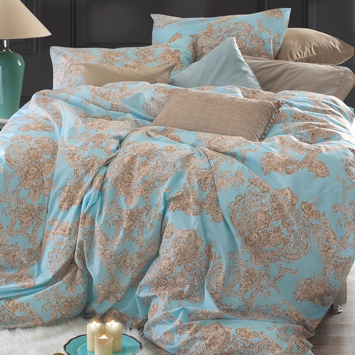 Κουβερλί Μονό (Σετ) Rythmos Nova Elodie Ciel home   κρεβατοκάμαρα   κουβερλί   κουβερλί μονά