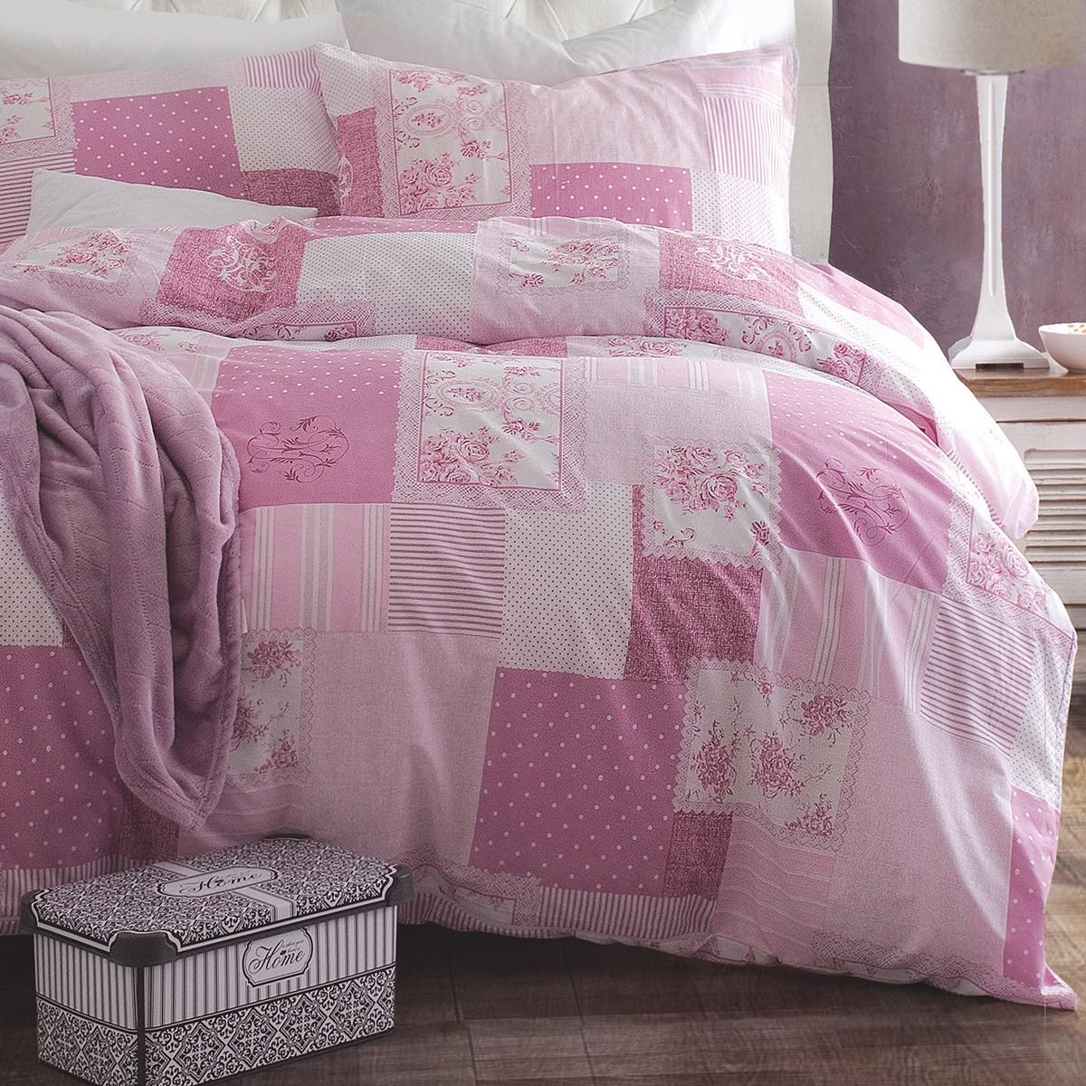 Κουβερλί Μονό (Σετ) Rythmos Next Mandie Pink home   κρεβατοκάμαρα   κουβερλί   κουβερλί μονά
