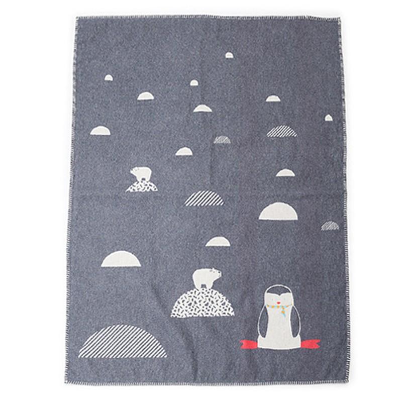 Κουβέρτα Fleece Κούνιας David Fussenegger Lili 6635/90
