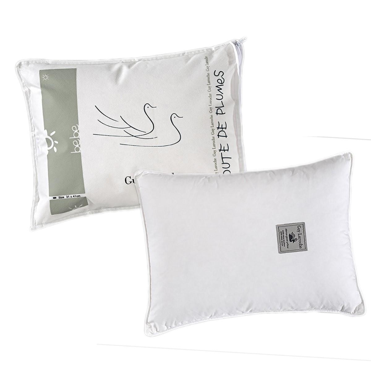 Βρεφικό Μαξιλάρι Πουπουλένιο Guy Laroche 50/50 home   βρεφικά   μαξιλάρια   επιστρώματα