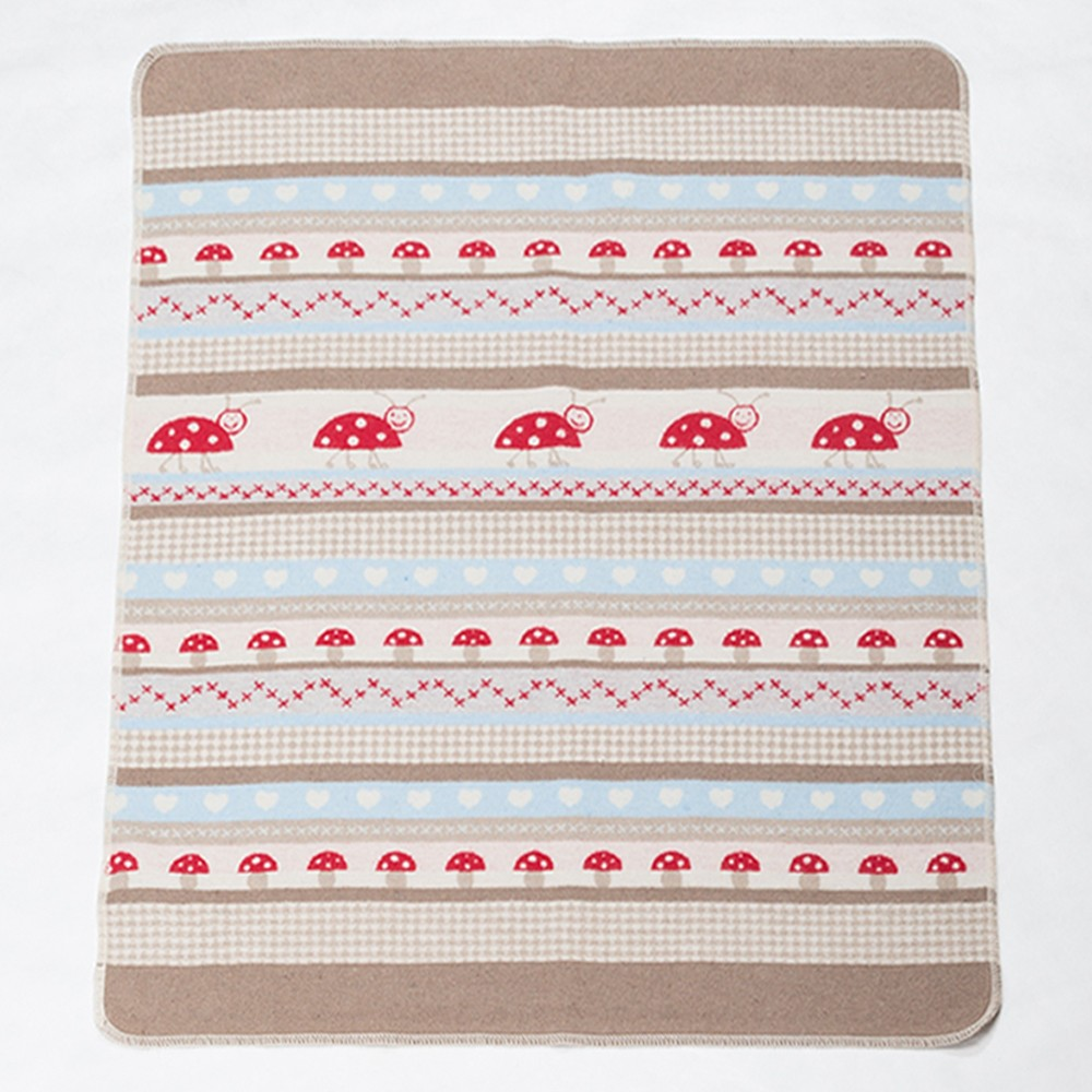 Κουβέρτα Fleece Αγκαλιάς David Fussenegger Juwel 6281/80