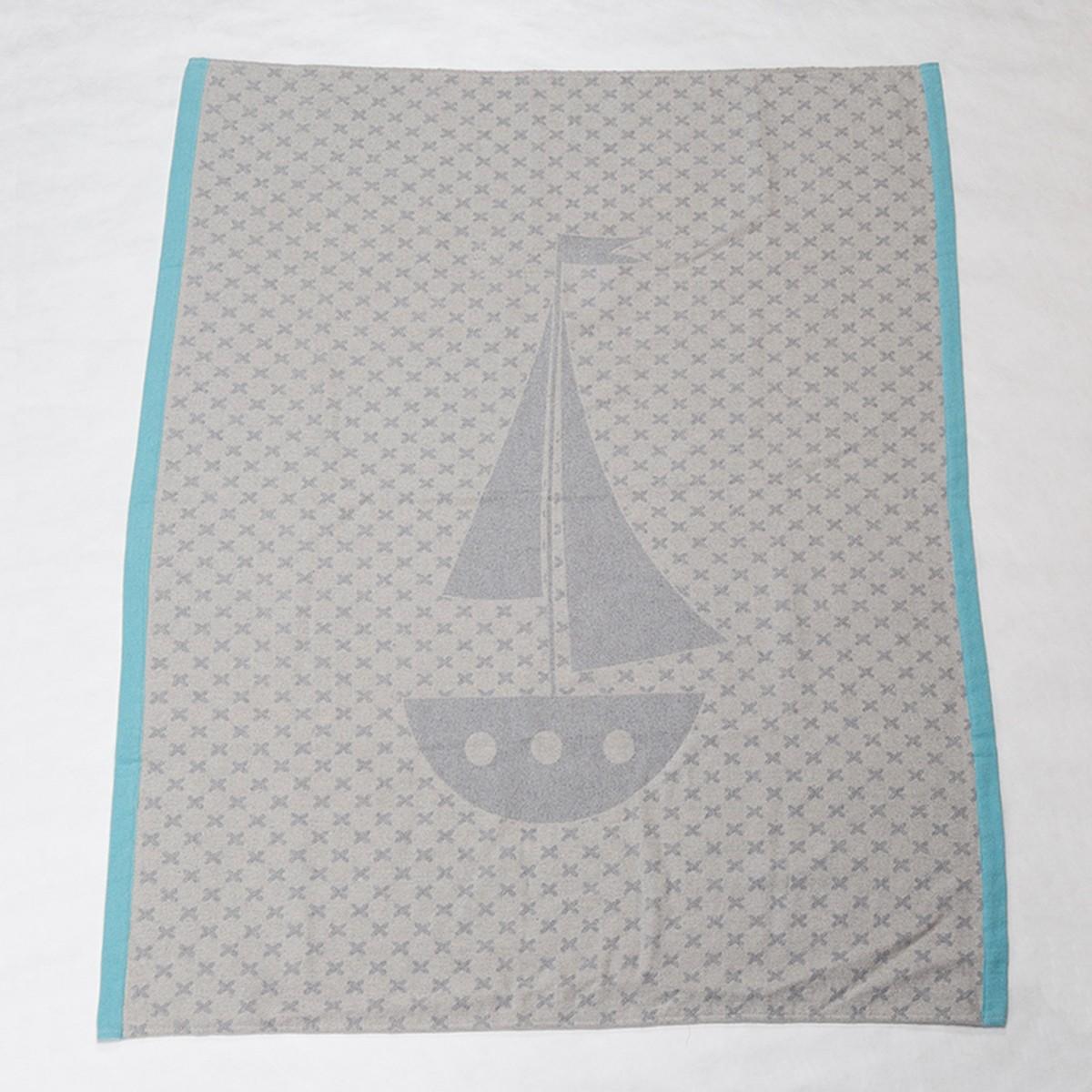 Κουβέρτα Fleece Κούνιας David Fussenegger Ida 2812/97 home   βρεφικά   κουβέρτες βρεφικές   κουβέρτες fleece