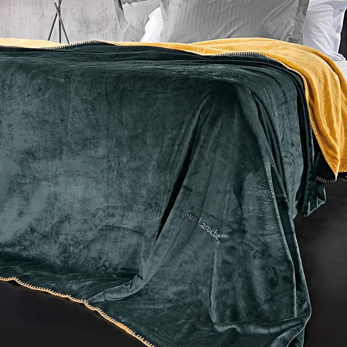 Κουβέρτα Fleece Υπέρδιπλη Διπλής Όψης Guy Laroche Tresor