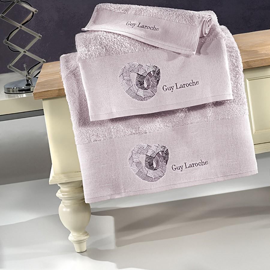 Πετσέτες Μπάνιου (Σετ 3τμχ) Guy Laroche Ring Lilac