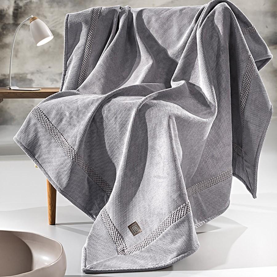 Ριχτάρι Τριθέσιου (170×300) Guy Laroche Rubicon Grey