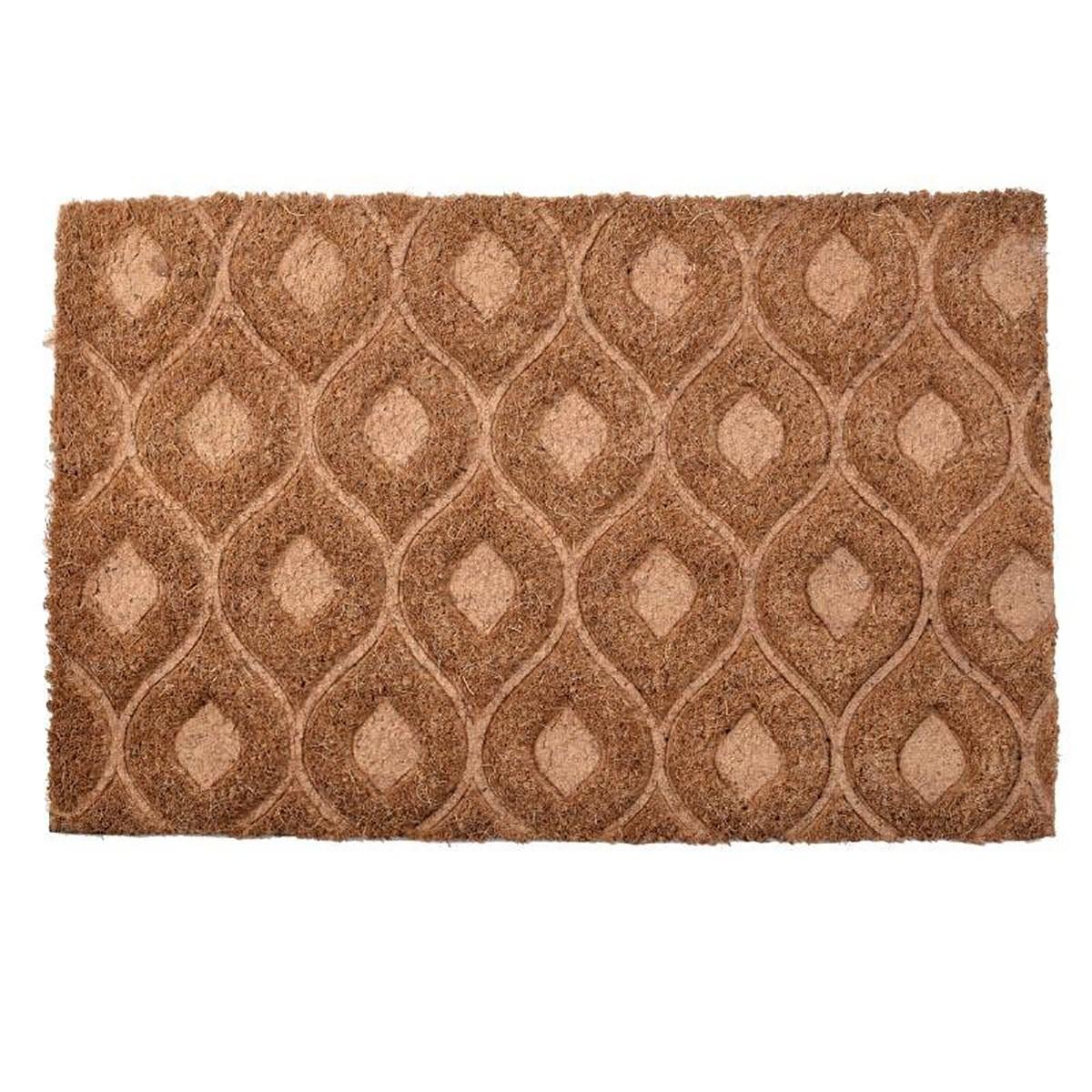Πατάκι Εισόδου (40×60) Με Πλάτη PVC InArt 3-40-803-0177