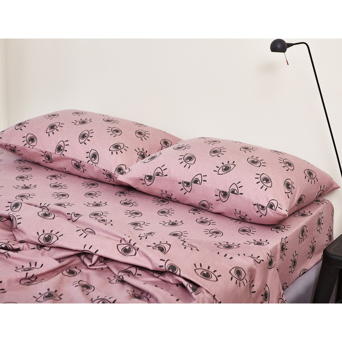 Φανελένια Σεντόνια Διπλά (Σετ) Melinen Dali Ash Rose home   κρεβατοκάμαρα   σεντόνια   σεντόνια ημίδιπλα   διπλά