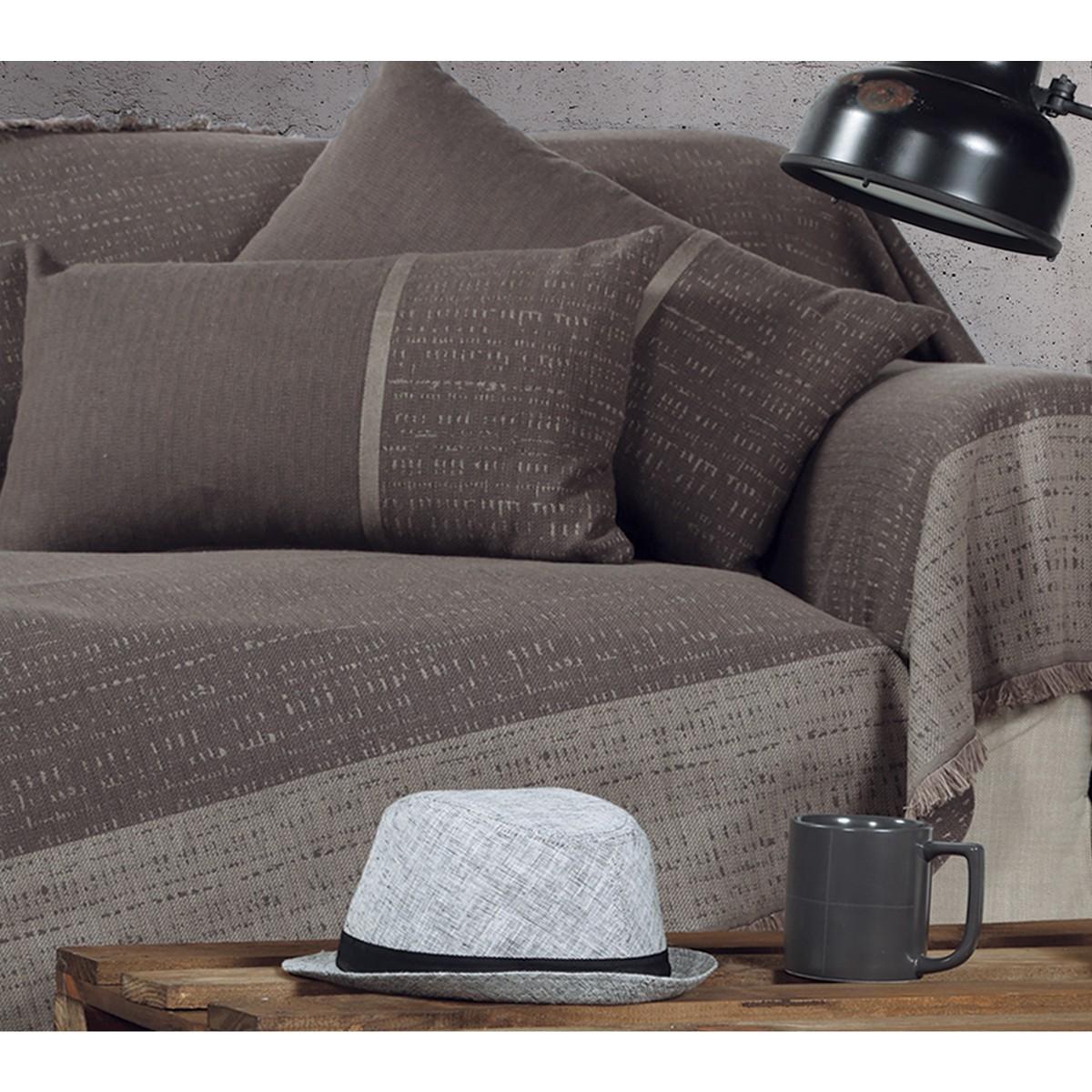 Ριχτάρι Τριθέσιου (170x300) Nef-Nef Leeds Grey