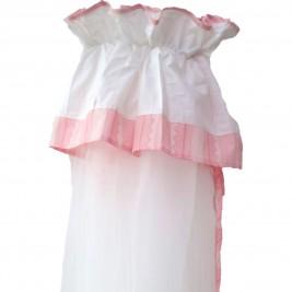Κουνουπιέρα Κούνιας Κόσμος Του Μωρού 7925 Heart Ροζ