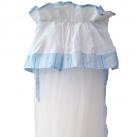 Κουνουπιέρα Κούνιας Κόσμος Του Μωρού 7925 Heart Σιέλ