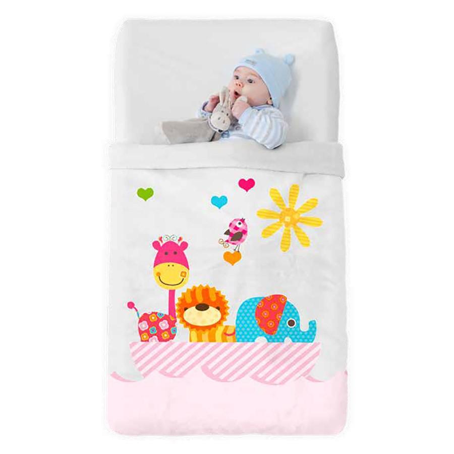 Κουβέρτα Βελουτέ Κούνιας Manterol Baby Vip 516 C04