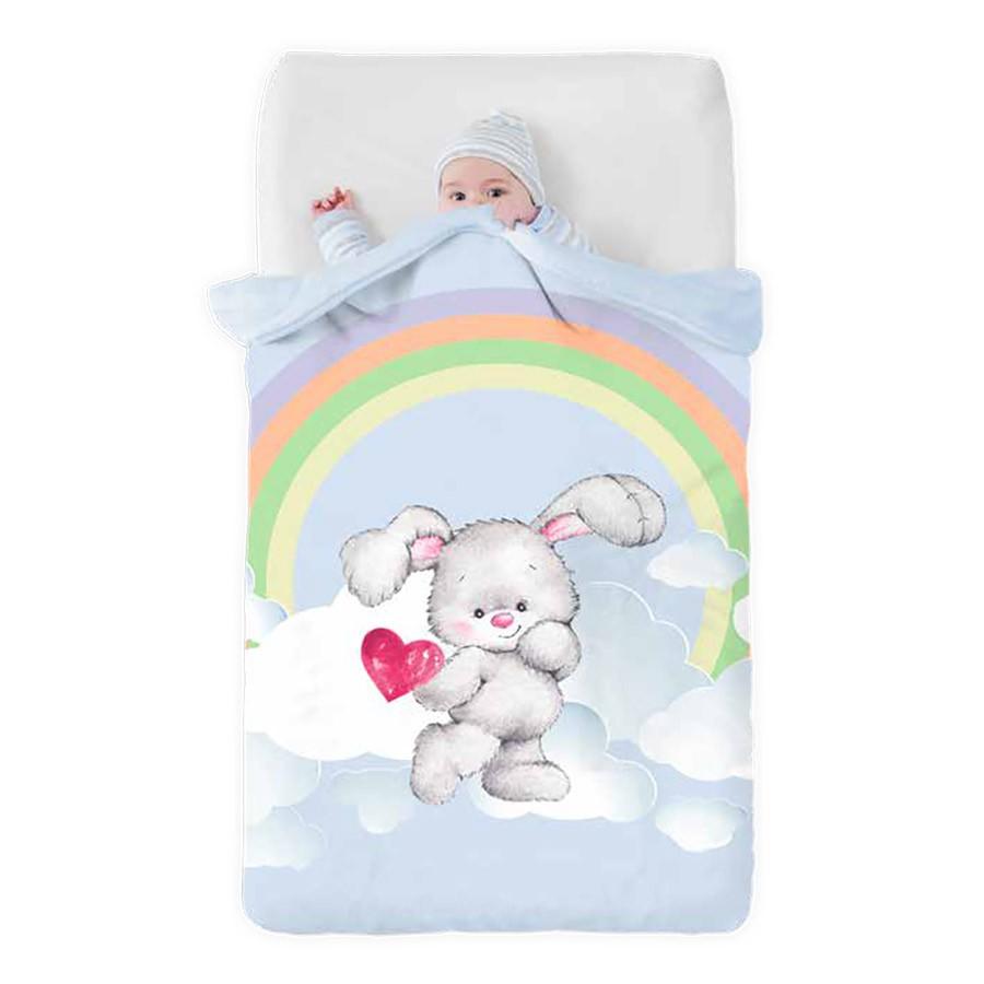 Κουβέρτα Βελουτέ Κούνιας Manterol Baby Vip 517 C08