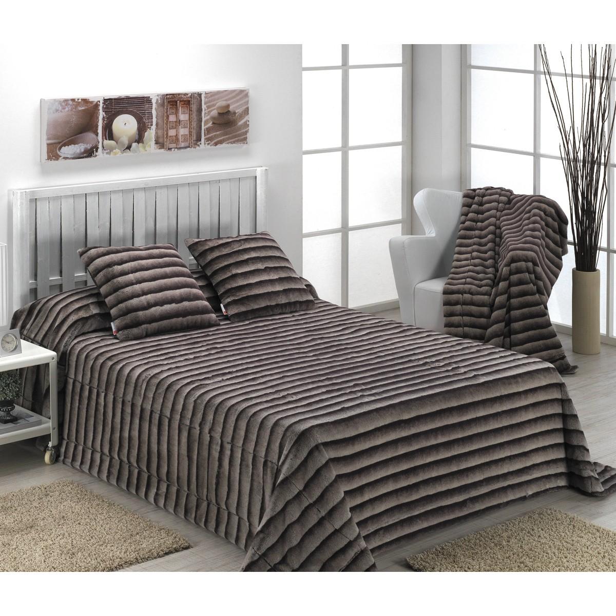 Κουβέρτα Γούνινη Υπέρδιπλη Morven Moscu C84 Grey home   κρεβατοκάμαρα   κουβέρτες   κουβέρτες γούνινες   μάλλινες