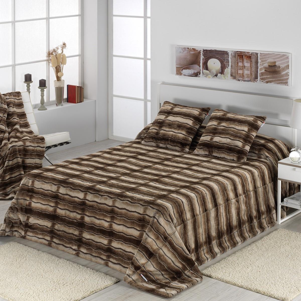 Κουβέρτα Γούνινη Υπέρδιπλη Morven Kolari C95 Brown home   κρεβατοκάμαρα   κουβέρτες   κουβέρτες γούνινες   μάλλινες